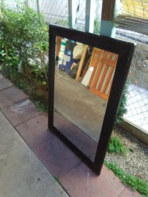 Mirror Espejo - 2.5' x 3.5'- Wood crafted patern for Sale in Bell Gardens, CA