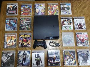 PS3 Slim Bundle (160gb) for Sale in Miami, FL