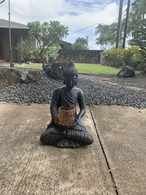 Buddha with candle holder for Sale in Kailua, HI