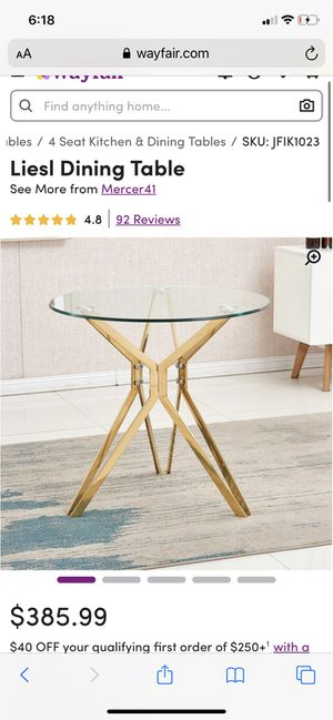 Dining Room Table and Chairs Set for Sale in Columbus, OH