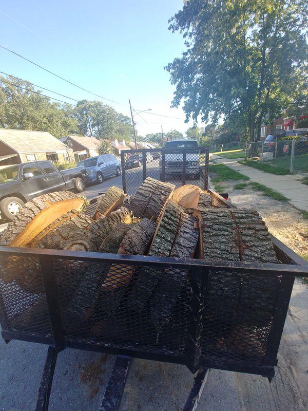 Madera. Oak Buena Madera para cualquier asado