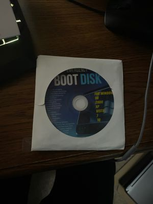 Boot disk for windows for Sale in Happy Valley, OR