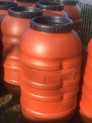 Dented unclean food grade barrels for Sale in Oroville, CA