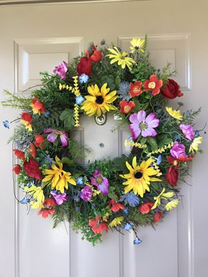 New Summer 24 inch Colorful Wreath for Sale in Davie, FL