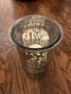 Metallic Vase/Candle Holder for Sale in Pembroke Pines, FL