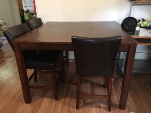 Large Dining Room Table with Chairs for Sale in West Palm Beach, FL