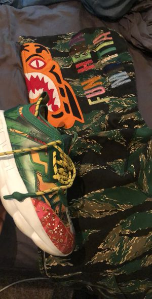 Versace Reaction and Bape for Sale in Detroit, MI