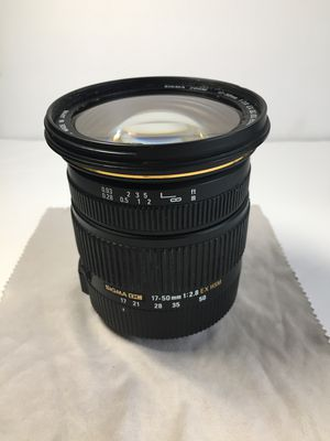 Sigma 17-50mm lens Canon for Sale in Macomb, MI