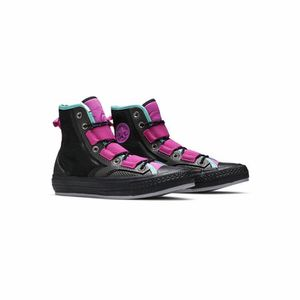 Converse Chuck Taylor 70 Tech Hiker Hi Top Black/Hyper Magenta/Pure Teal Size 4 New without box for Sale in French Creek, WV