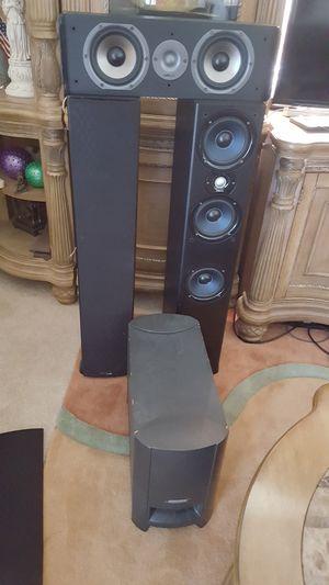3 piece Polk audio for Sale in Port St. Lucie, FL