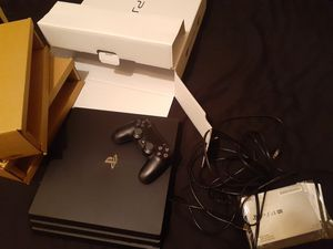 Ps4 pro 1TB + for Sale in Tampa, FL