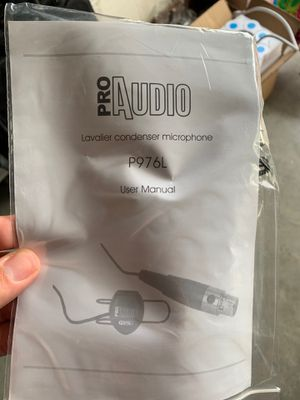 Lavalier condenser microphone for Sale in Naples, FL