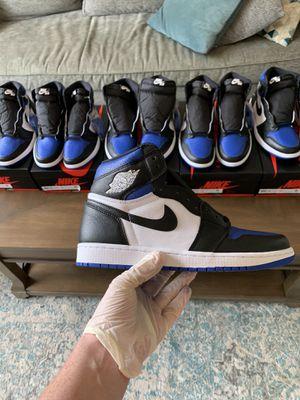 Nike Air Jordan 1 Royal Toe Size 9 for Sale in Wynnewood, PA