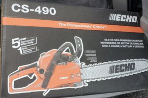 Echo CS 490 20 inch chainsaw Brand New. 👀 for Sale in Staten Island, NY
