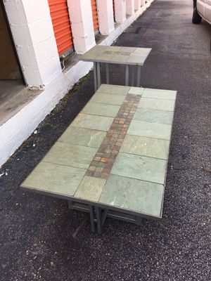 Stone Topped Coffee Table Set!! for Sale in Richmond, VA