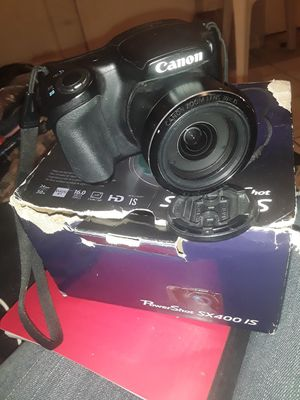 Canon powershot sx400 is for Sale in Beaumont, CA
