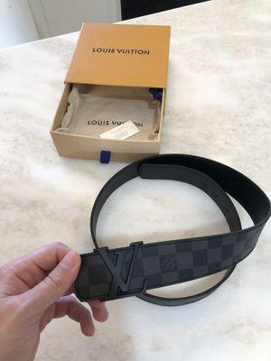 Louis Vuitton Black Damier Belt for Sale in Lutz, FL