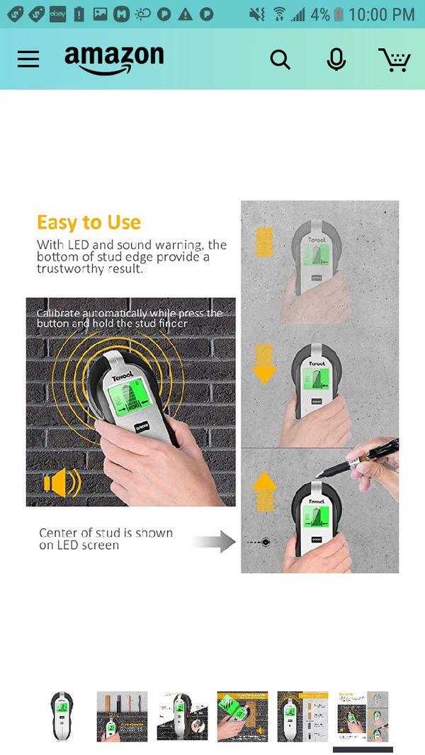 4 in 1 Stud Finder Sensor Wall Scanner