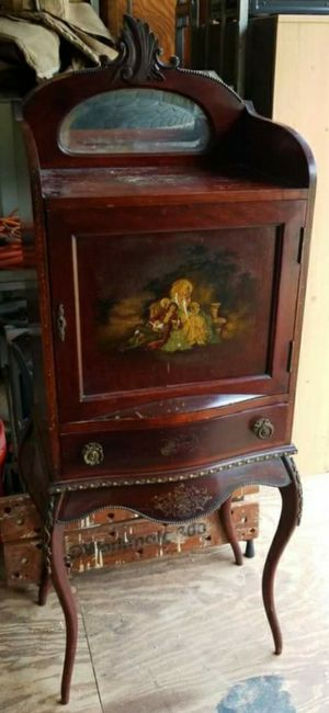 Antique French music sheet cabinet, from the early 1900s. for Sale in Newfield, NJ