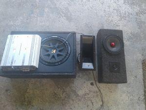 Kicker speaker,cali 700 watt amp for Sale in Lakeland, FL