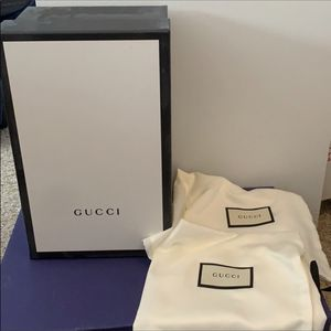 Gucci box and 2 dust bags for Sale in Chicago, IL
