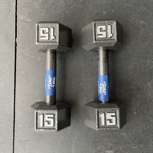 15 Pound Dumbbells for Sale in Los Angeles, CA