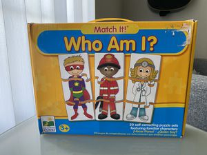 Learning game ; Who Am I? Puzzle 🧩 for Sale in St. Cloud, FL