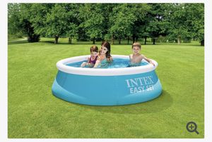 Intex 6 ft x 20 in Easy Set Inflatable Swimming Pool for Sale in Chevy Chase, MD