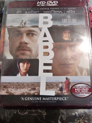 HD DVD MOVIE. BABEL for Sale in Tustin, CA