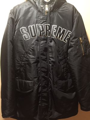 Supreme 3-NB Arc Logo Parka Large for Sale in Gaithersburg, MD