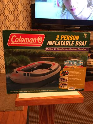 Coleman 2 person inflatable boat for Sale in Fairfax, VA