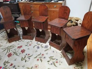 Set of 5 Weirdly Cool Chairs for Sale in Burke, VA