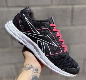 Reebok Black and Pink Athletic Outdoor Womens Sneakers Shoes Sz 10 for Sale in Las Vegas, NV