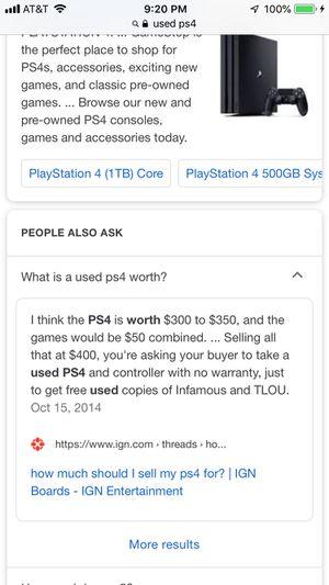 PS4 for Sale in Pembroke Pines, FL