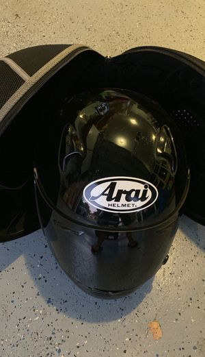 ARAI all BLK full face helmet for Sale in Stockton, CA