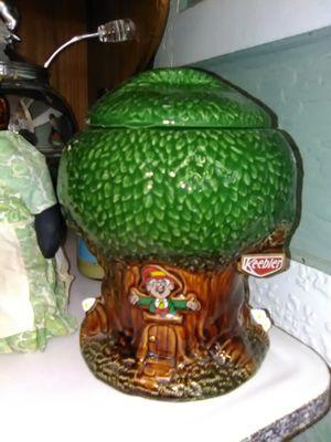 Vintage Keebler Elf cookie jar kitchen canister for Sale in La Mesa, CA
