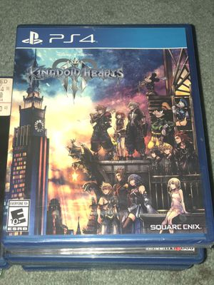 Kingdom Hearts III for Sale in San Diego, CA