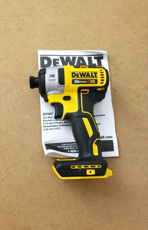 New Dewalt Impact Drill 1/4 MAX XR 3 Speed ONLY TOOL FIRM PRICE for Sale in Woodbridge, VA