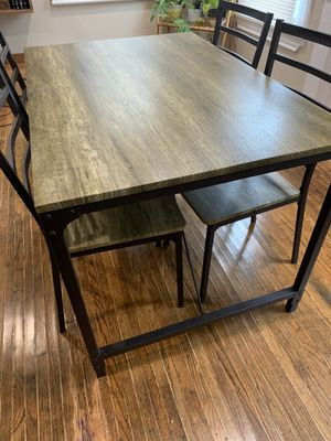 Table with 4 chairs for Sale in Buffalo, NY