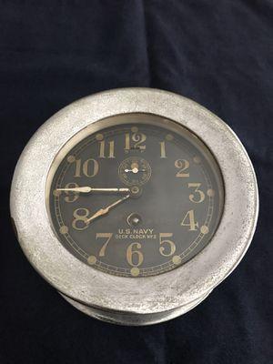 US Navy Deck Clock Vintage for Sale in Lakewood, CA