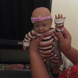 Reborn Silicone Baby Doll for Sale in Woodbridge, VA