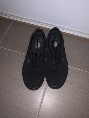 Black vans for Sale in Victorville, CA