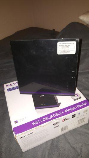 Netgear ac1600 modem router for Sale in Apache Junction, AZ