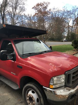 F-450 2003 Ford f450 condition: excellent cylinders: 8 cylinders drive: rwd fuel: diesel odometer: 103461 paint color: red size: full-size t for Sale in Annandale, VA