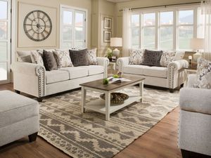 New! Simmons Fabric Della Sofa + Free Delivery✅ for Sale in Columbia, MD