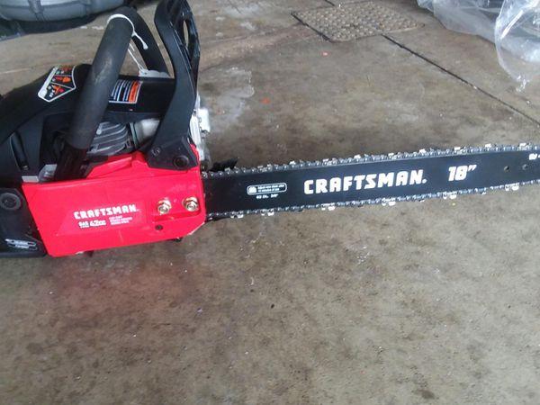 Chainsaws 14 16 18 inch craftsman ryobi