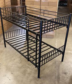 New!! Twin Bed, Twin Bunkbed, Twin Bunk Bed, Bedroom Furniture for Sale in Phoenix,  AZ