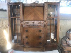 Antique Secretary China Cabinet/desk. for Sale in Glendale, AZ
