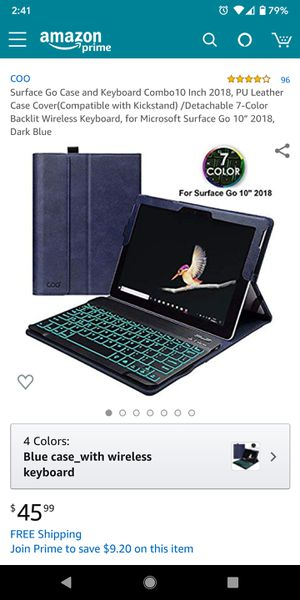 Surface go keyboard case for Sale in Paramount, CA