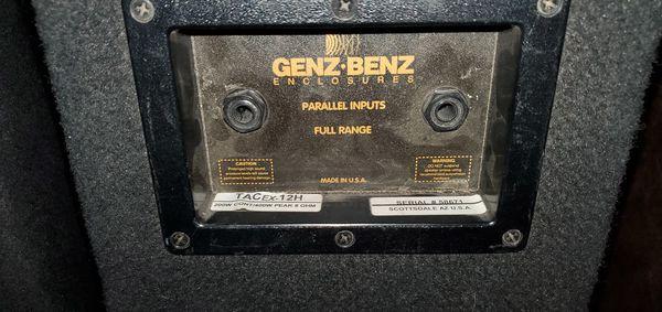 Genz Benz Monitors